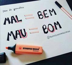Build Your Brazilian Portuguese Vocabulary Portuguese Lessons, Learn Portuguese, Rudolf Steiner, Lettering Tutorial, Mental Map, Stabilo Boss, Study Organization, Bullet Journal School, Study Planner