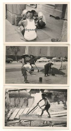Hong Kong Sai Wan Chinese Workers 1960 Vintage old Photographs Ethnic China