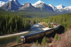 The Royal Canadian Pacific - Luxury Train Tours of Canada Canadian Pacific Railway, Canadian Rockies, Travel Around The World, Around The Worlds, Train Tour, Banff National Park, Train Travel, Places To See, Beautiful Places