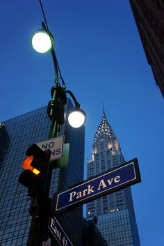 Park Avenue ~ New York City, New York