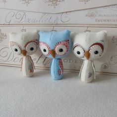Felted Owls...