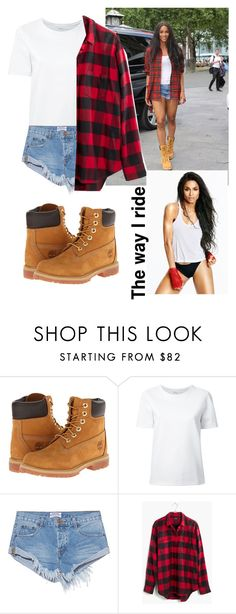 by annabidel featuring Lemaire, Madewell, OneTeaspoon, Timberland and WWE Timberland Outfits Women, Timberland Boots Outfit, Timberland Fashion, Timberlands Women, Timbs Outfits, Cool Outfits, Casual Outfits, Summer Outfits Women, Outfit Summer