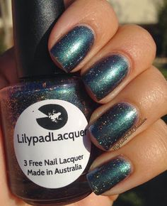 My Nail Polish Obsession: LilyPad Lacquer Mystical Marine
