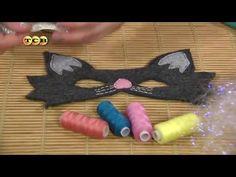 Карнавальные маски из фетра - На заметку - YouTube