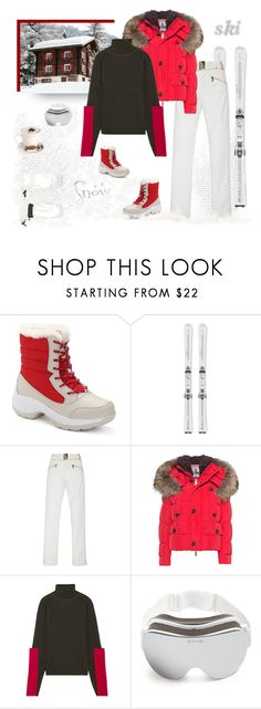 """""""Let's Go Skiing"""" by shoptillyadrop ❤ liked on Polyvore featuring Bogner, Dsquared2, Joseph, YNIQ and Sweaty Betty"""