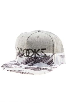 511230e7dc9 Crooks and Castles Hat Currency Tiger Camo Snapback Speckle Grey -  Karmaloop.com