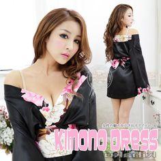 Modern Kimono, Most Beautiful, Beautiful Women, Kimono Dress, Lady, Dresses, Style, Kimono Dressing Gown, Vestidos
