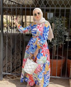 Best Dressed Hijab Fashion Instagram Influencers This Summer - image@mawadda_tak - Check Out The Best Dressed Instagram Bloggers This Summer And Get Great Inspiration On Casual Summer Outfits, Casual Simple Hijab Outfits, Casual Classy Hijab Looks, Street Style Hijab Fashion, Summer Long Dress Inspiration, Long Skirt Outfit Ideas With Hijab And Much More. #hijabfashion #hijabioutfitscasual #hijaboutfit #instagramfashion #summerstyle #muslimahfashion