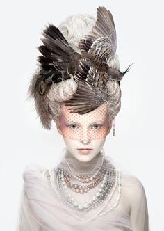"""Alexia Sinclair 2013 """"Les Antoinettes: La Coiffure Oiseau"""""""