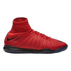 ce25db7ee Kids  Jr. Hypervenomx Proximo II DF IC Soccer Shoe (Red) --