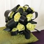 Green Bridesmaid Bouquet (BW87-11)