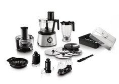 Philips HR7778/00 Avance Küchenmaschine (+30 Funktionen, inkl. Entsafter, 1000W) Amazon 194,54€