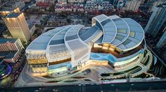 Aedas's Olympia 66 Shopping Mall in Dalian, China