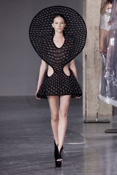 See the complete Iris van Herpen Fall 2014 Ready-to-Wear collection.