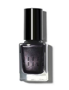 according to this person, Bobbi Brown nails the best purple-black manicure color. Might have to try it, as purple black is one of my favorite nail polish colors. Brown Nail Polish, New Nail Polish, Brown Nails, Nail Polish Colors, Black Manicure, Manicure Colors, Black Nails, Pink Nails, Garra