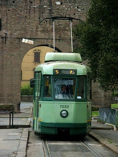 Roman tram #greenwithenvy #lifeinstyle