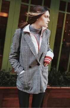 Blazer Xadrez: O queridinho do momento » Fashion Break