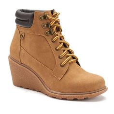 Unionbay Rapsody Women's Wedge Ankle Boots ~ Got Em! Love Em!