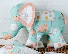 Ellie elephant & pillow