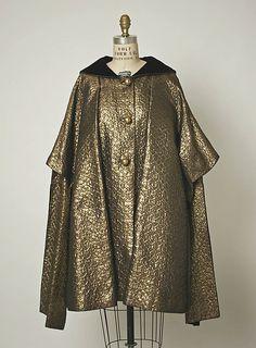 Evening coat  Gilbert Adrian  (American, 1903–1959)