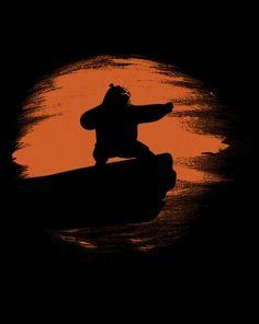Inner Peace T-Shirt - $11 Kung Fu Panda tee at ShirtPunch today only!