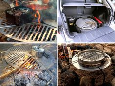 Spare Tire Mount Grill.