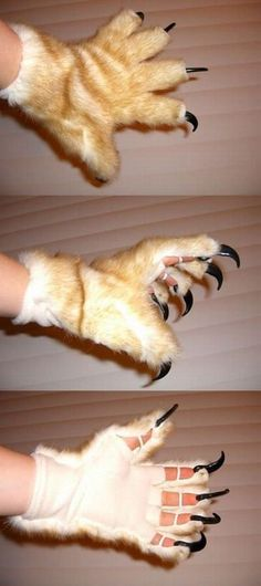 Claw Gloves                                                                                                                                                                                 Mais