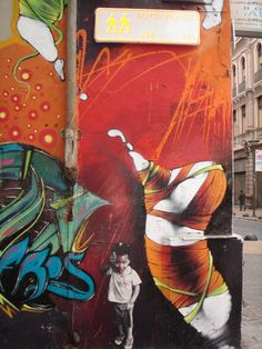 Inti, Valparaiso, Chile - unurth | street art