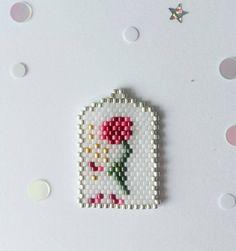 Beauty & The Beast Seed Bead Patterns, Beaded Jewelry Patterns, Beading Patterns, Stitch Disney, Beaded Crafts, Seed Bead Jewelry, Bead Crochet, Beading Tutorials, Loom Beading