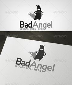 Realistic Graphic DOWNLOAD (.ai, .psd) :: http://jquery.re/pinterest-itmid-1002680714i.html ... BadAngel Logo ...  adobe illustrator, ai, angel, bad, creative, demon, devil, eps, logo, ruskaa  ... Realistic Photo Graphic Print Obejct Business Web Elements Illustration Design Templates ... DOWNLOAD :: http://jquery.re/pinterest-itmid-1002680714i.html