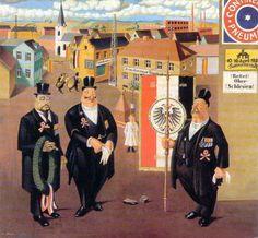 Georg Scholz 1921 22 - Anciens combattants. 1922.
