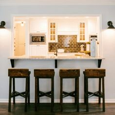 KNOCKING OUT A WALL TO INSTALL A BAR | My Fifties Kitchen Redo ...