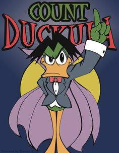 COUNT Duckula by thweatted on DeviantART