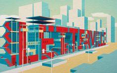 Letterville by Jing Zhang. #typography #illustration http://www.behance.net/mazakii