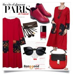 """Banggood III/2"" by zenabezimena ❤ liked on Polyvore featuring мода, H&M, Chanel и Borghese"