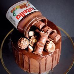Nutella and chill. It's like Netflix and chill but you get to eat a cake alone…