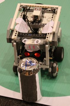 Lego MindStorms EV3 RoboCup Junior Secondary Rescue Robot.Nationals 2014