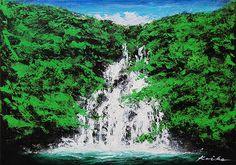 RELAX画「真夏の滝」[KOIKE] | ART-Meter