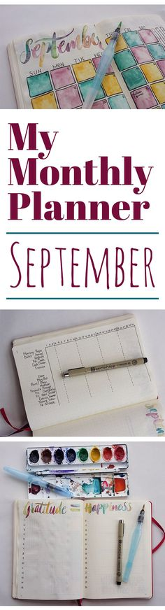 How do you plan your month? Check out my September monthly planner to see what I use to make my month as productive as it can be. See how I mix beauty and function with a few simple tools and methods. Get started with your monthly planner today!