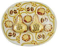 Decorative dish sold by Hagelstam, Helsinki, on Saturday, December 2014 Nordic Design, Scandinavian Design, Paper Drawing, Pottery Vase, Ceramic Artists, Clay Art, Metallica, Finland, 3 D