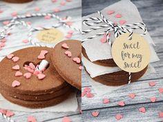 Food - Sweet For My Sweet – geheimnisvolle Kekse Rezept für den/die Liebste/n - Kekse mit Überraschung - Geheimfachkekse http://barfussimnovember.com