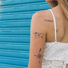 Meghan Rienks Holographic Temporary Tattoos Collection   Tattify
