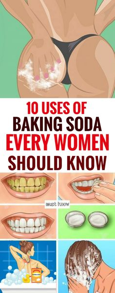 Every Woman Should Know These 10 Tricks with Baking Soda.