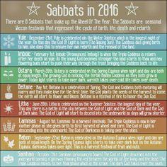 ... pagan paganism wicca wicca teachings wiccan pagan 2016 sabbats sabbats