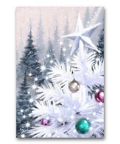 Another great find on #zulily! Shimmering Light Wrapped Canvas #zulilyfinds