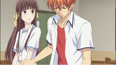 I'm sort of an old fashioned kind of guy Manga Anime, Anime Kiss, Anime Art, Fruits Basket Cosplay, Fruits Basket Manga, Snow White With The Red Hair, Anime Boyfriend, Film D'animation, Girls Anime