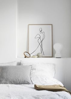 Minimal Bedroom Ideas | Simplicity & Minimalism | pinned by MINIMYARNISM