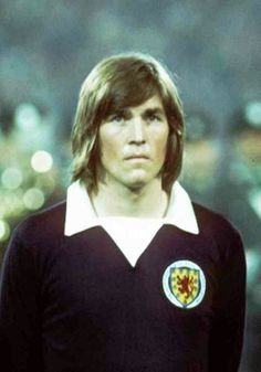 Kenny Dalglish of Scotland at the 1974 World Cup Finals.