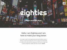 WordPress › Eighties