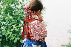 mitošinkovie: Dianka - Slovak traditional embroidered dress